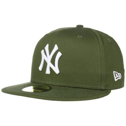 New Era 59Fifty Ess Yankees Cap Fitted Basecap Baseballcap MLB Flat Brim NY New York