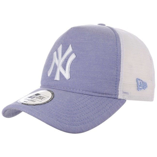 New Era Oxford Yankees Trucker Cap Basecap Base...