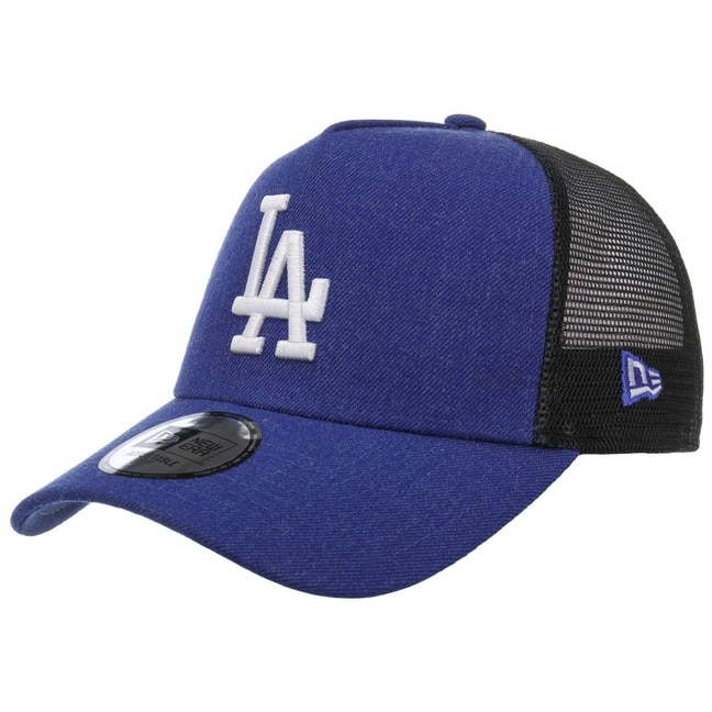 New Era Heather Dodgers Trucker Cap Basecap Bas...
