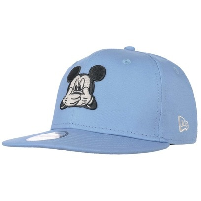 New Era 9Fifty Mickey Mouse Kindercap Comic Cap Snapback Flat Brim Basecap Baseballcap