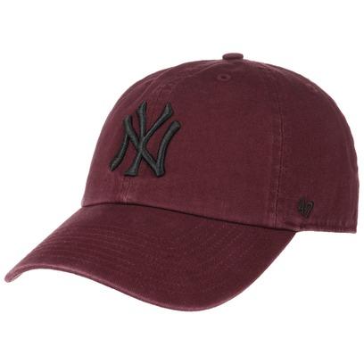 47 Brand Clean Up Yankees MRN Strapback Cap Basecap MLB New York Baseballcap Kappe Curved Brim - Bild 1