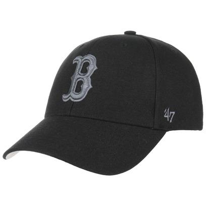 47 Brand Red Sox BG Strapback Cap MLB Boston Basecap Curved Brim Baseballcap Kappe - Bild 1