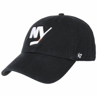 47 Brand Clean Up NY Islanders Strapback Cap Basecap NHL New York Baseballcap Curved Brim - Bild 1