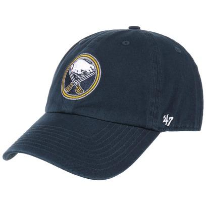 47 Brand Clean Up Sabres Strapback Cap Basecap Baseballcap NHL Buffalo Curved Brim Kappe - Bild 1