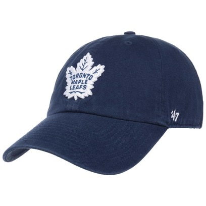 47 Brand Clean Up Maple Leafs Strapback Cap Basecap Baseballcap Toronto NHL Kappe Curved Brim - Bild 1