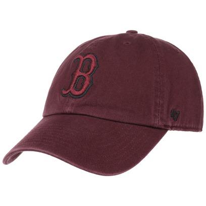 47 Brand Clean Up Red Sox MRN Strapback Cap Basecap Boston MLB Baseballcap Kappe Curved Brim - Bild 1