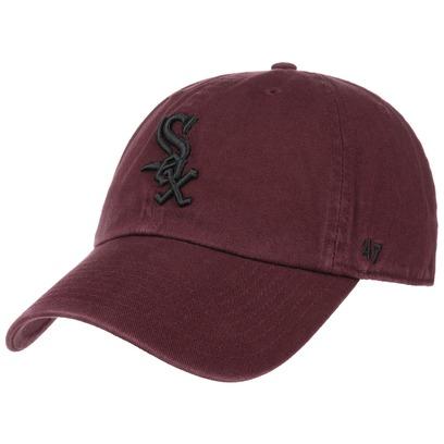 47 Brand Clean Up White Sox MRN Strapback Cap Basecap Baseballcap MLB Kappe Curved Brim Chicago - Bild 1