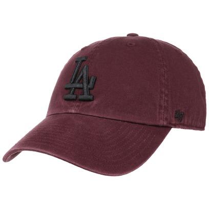 47 Brand Clean Up Dodgers MRN Strapback Cap Basecap Baseballcap MLB Los Angeles LA Curved Brim Kappe - Bild 1