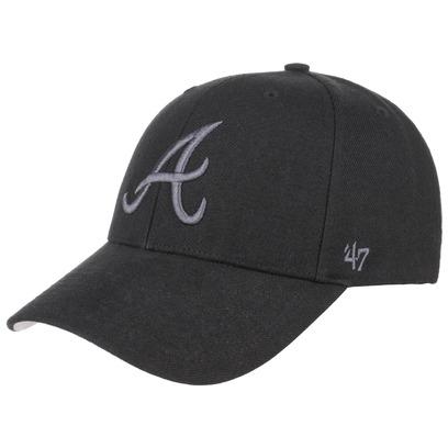 47 Brand Braves BG Strapback Cap Basecap Baseballcap Kappe MLB Atlanta - Bild 1