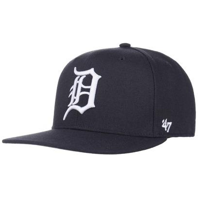 47 Brand Captain Sureshot Tigers Cap Flat Brim Snapback Basecap Baseballcap Kappe - Bild 1