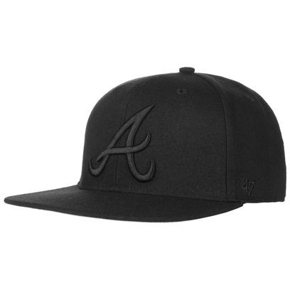 47 Brand Captain Sureshot Braves BoB Cap Baseballcap Atlanta Basecap Snapback Flat Brim MLB - Bild 1