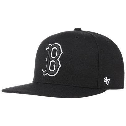 47 Brand Captain Sureshot Red Sox II Cap Flat Brim Snapback Basecap Baseballcap Kappe Boston MLB - Bild 1