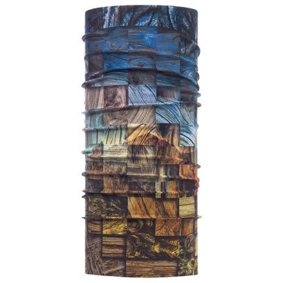 BUFF Wood Collage High UV Multifunktionstuch Schlauchschal Gesichtsschutz Bandana Stirnband Schal - Bild 1