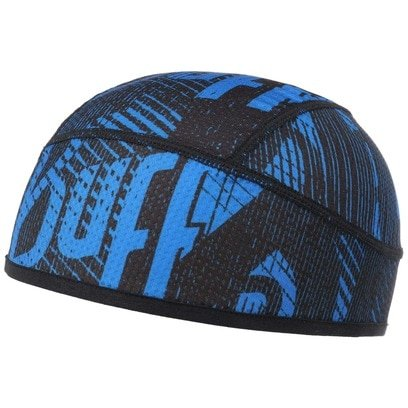 BUFF Flash Logo Cape Blue Underhelmet Beanie Mütze Outdoormütze Rennradmütze - Bild 1