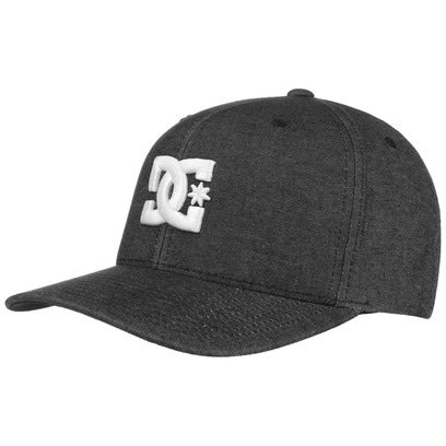 DC Shoes Co Capstar TX Cap Baseballcap Basecap Fitted Curved Brim Kappe - Bild 1