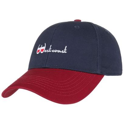 Cayler & Sons Westcoast Strapback Cap Basecap Baseballcap Kappe Curved Brim Käppi - Bild 1
