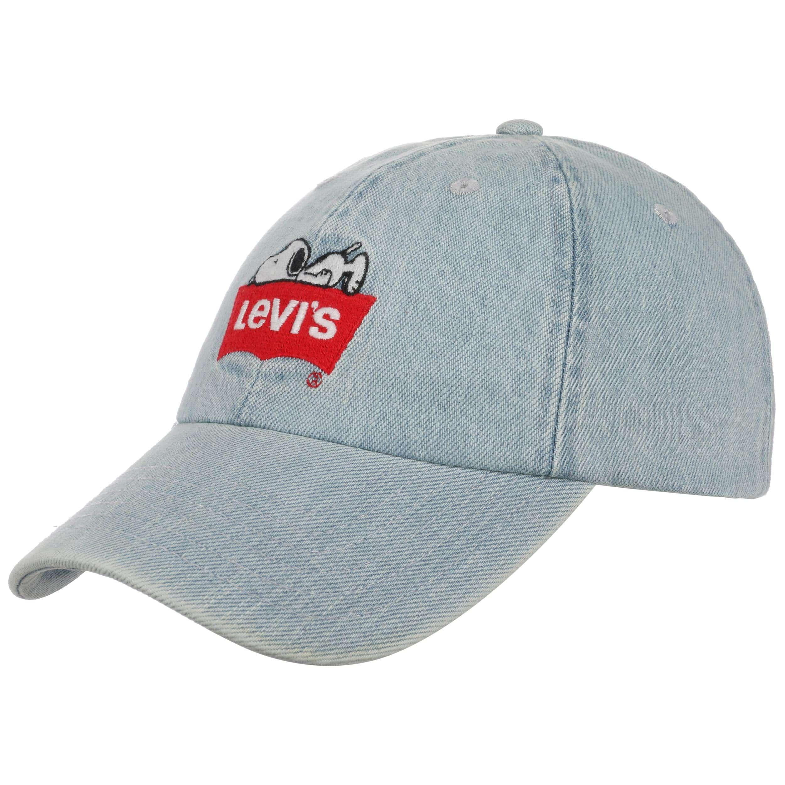 Snoopy Baseball Cap - Blue Levi's NbFoxH3Fzq