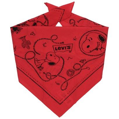 Levi´s Snoopy Bandana Halstuch Schal Bandanatuch Baumwolltuch - Bild 1