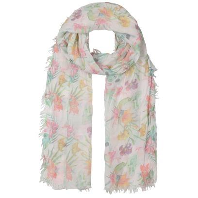 Passigatti Flowerprint Damenschal Sommerschal Sommertuch Schal Damentuch