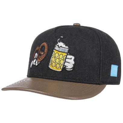 Cayler & Sons Wiesn Flat Snapback Cap Flatbrim Basecap Baseballcap Kappe - Bild 1