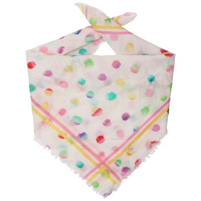 Passigatti Colour Dots Bandana Halstuch Bandanatuch Sommertuch Damentuch
