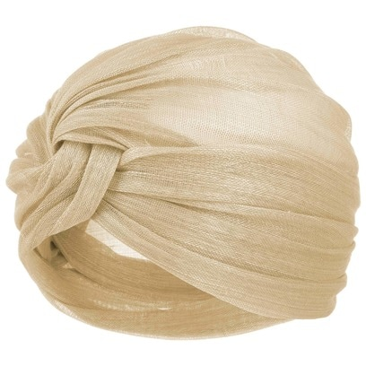 Seeberger Estelle Strohturban Turban Damenturban Kopftuch - Bild 1