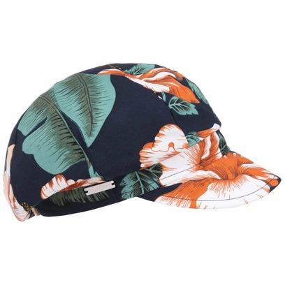 Seeberger Flower Viskose Ballonmütze Damencap Sommercap Sonnencap Strandcap - Bild 1