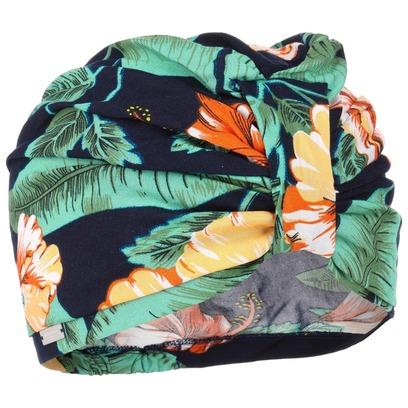 Seeberger Flower Viskose Turban Damenturban Sommerturban Kopftuch Damenmütze Sommermütze - Bild 1