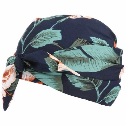 Seeberger Flower Viskose Long Turban Damenturban, Sommerturban, Kopftuch