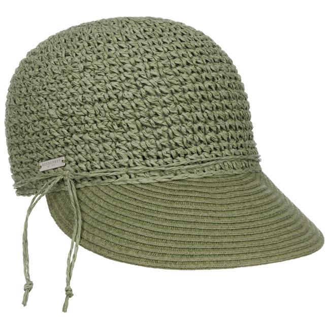 Seeberger Uni Rollable Crochet Cap Damencap Sommercap Sonnencap S bei Hutshopping
