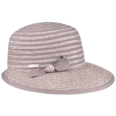 Seeberger Paglina Strohcap Cap Damencap Sommercap Strohmütze Schirmmütze