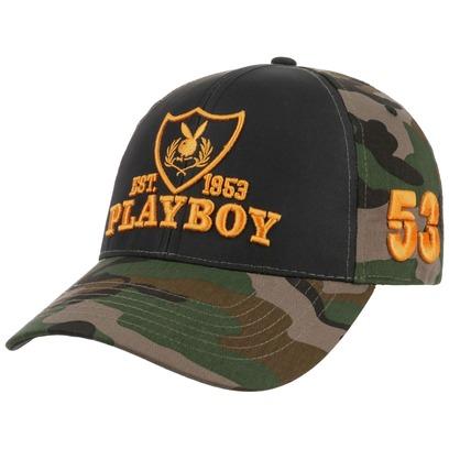 Camouflage Bunny Playboy Cap Basecap Kappe Snapback Baseballcap - Bild 1