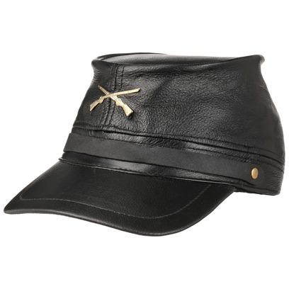 Civil War Hat Black Staatenmütze - Bild 1