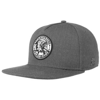 Cayler & Sons Bravehearted Snapback Cap Flat Brim Flatbrim Basecap Baseballcap Kappe Käppi - Bild 1
