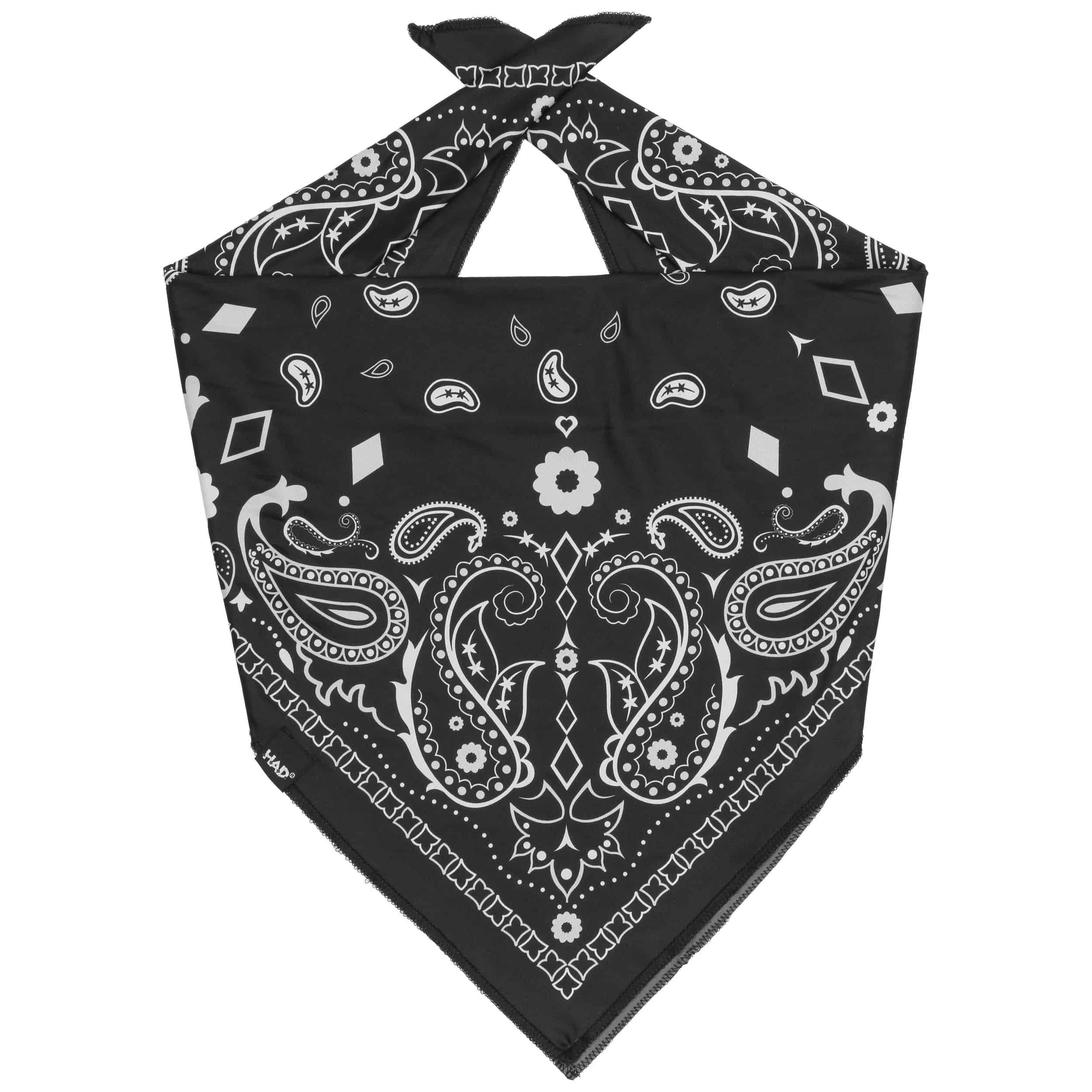 Tec Paisley Black Bandana by H.A.D., EUR 16,95 --> Hats ...
