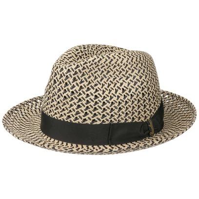 Borsalino Crochet Panamahut Sommerhut Sonnenhut Strandhut Fedora Strohtrilby Panamastrohhut Hut - Bild 1