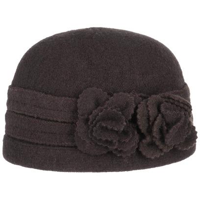 McBURN Jamina Toque Walkmütze Damenmütze Wintermütze Wollmütze