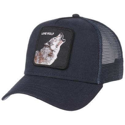 Goorin Bros. Lone Wolf Trucker Cap Basecap Baseballcap Meshcap Snapback Truckercap