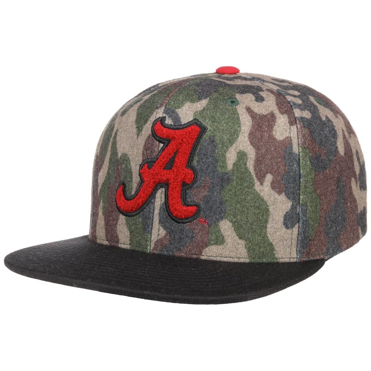 ncaa-camo-flannel-alabama-cap-by-mitchell-ness-flat-brim-cap
