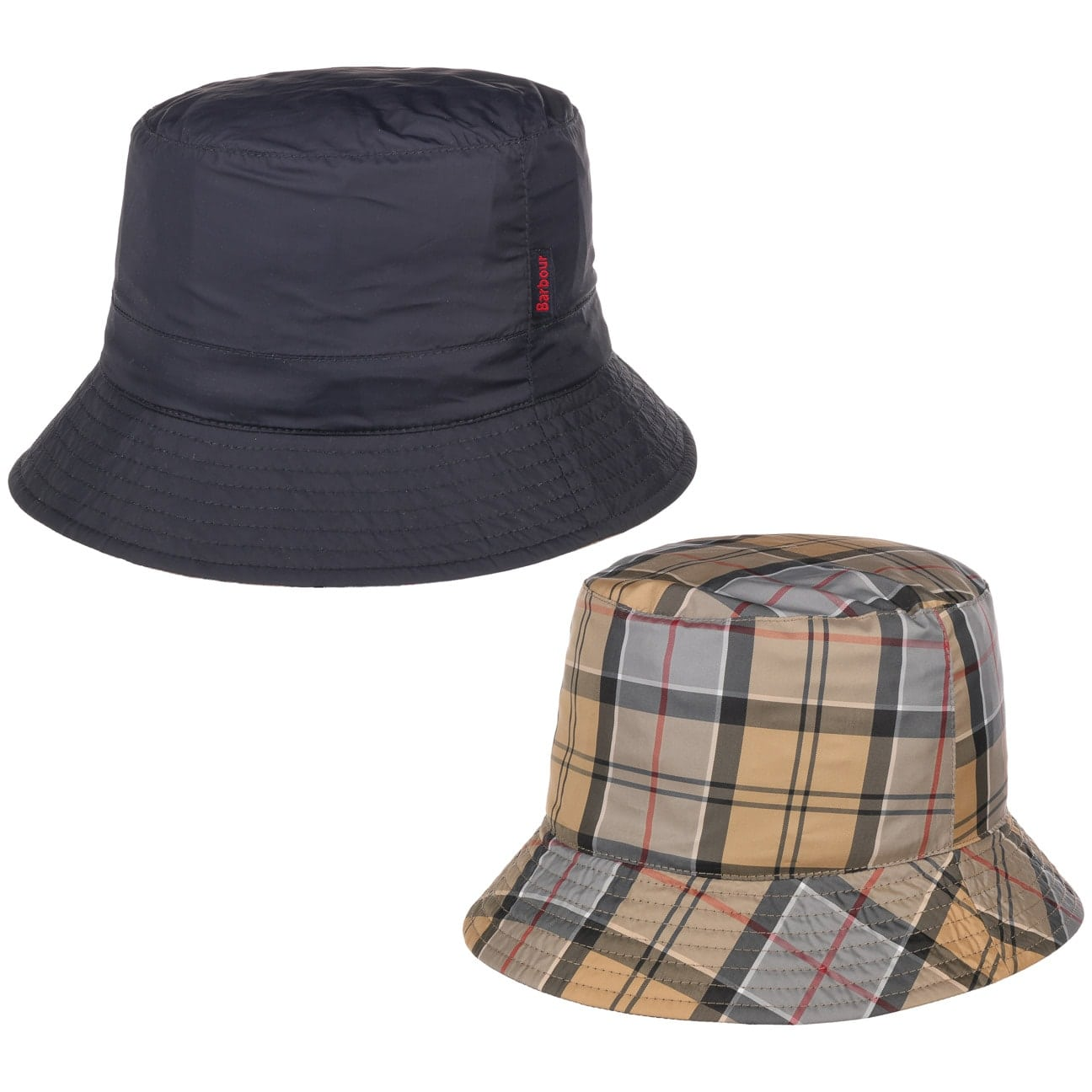 tartan-bucket-wendehut-by-barbour-outdoorhut, 49.95 EUR @ hutshopping-de