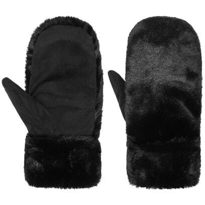 SEEBERGER Fake Fur Muff Handwärmer Handschuhe Damen