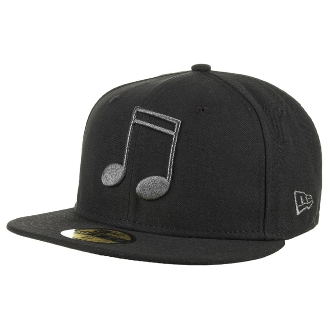 59fifty black note basecap by new era baseballcaps new era. Black Bedroom Furniture Sets. Home Design Ideas