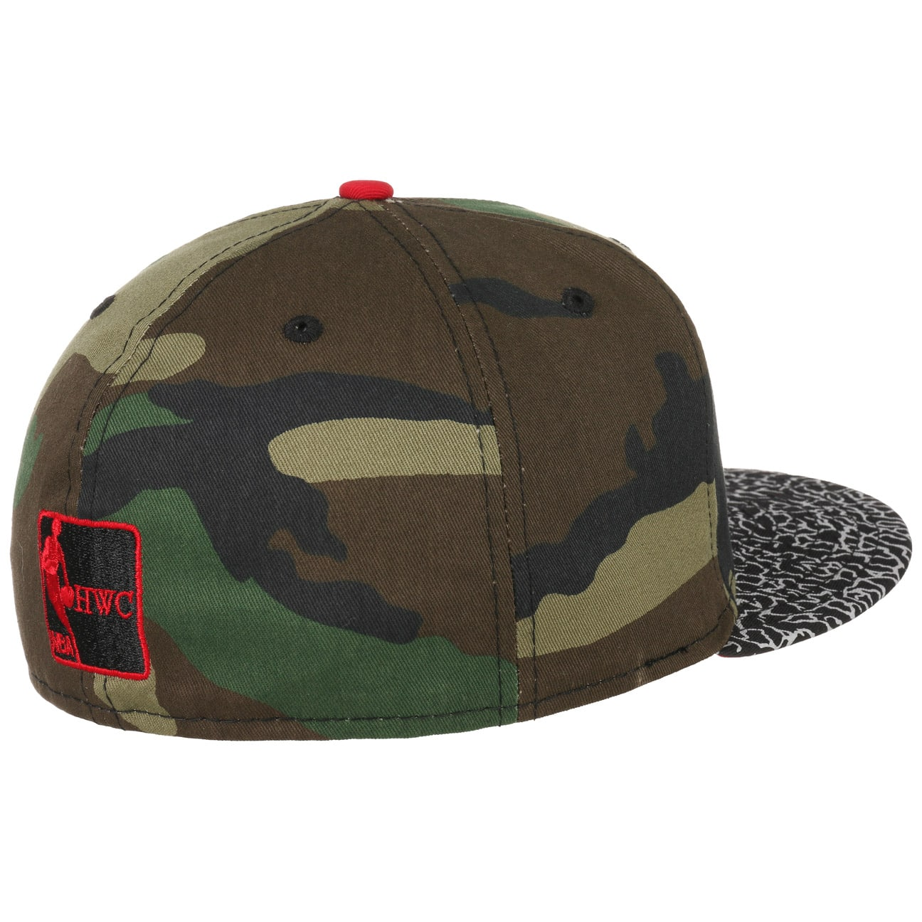 59fifty bulls camouflage cap by new era gbp 16 95. Black Bedroom Furniture Sets. Home Design Ideas