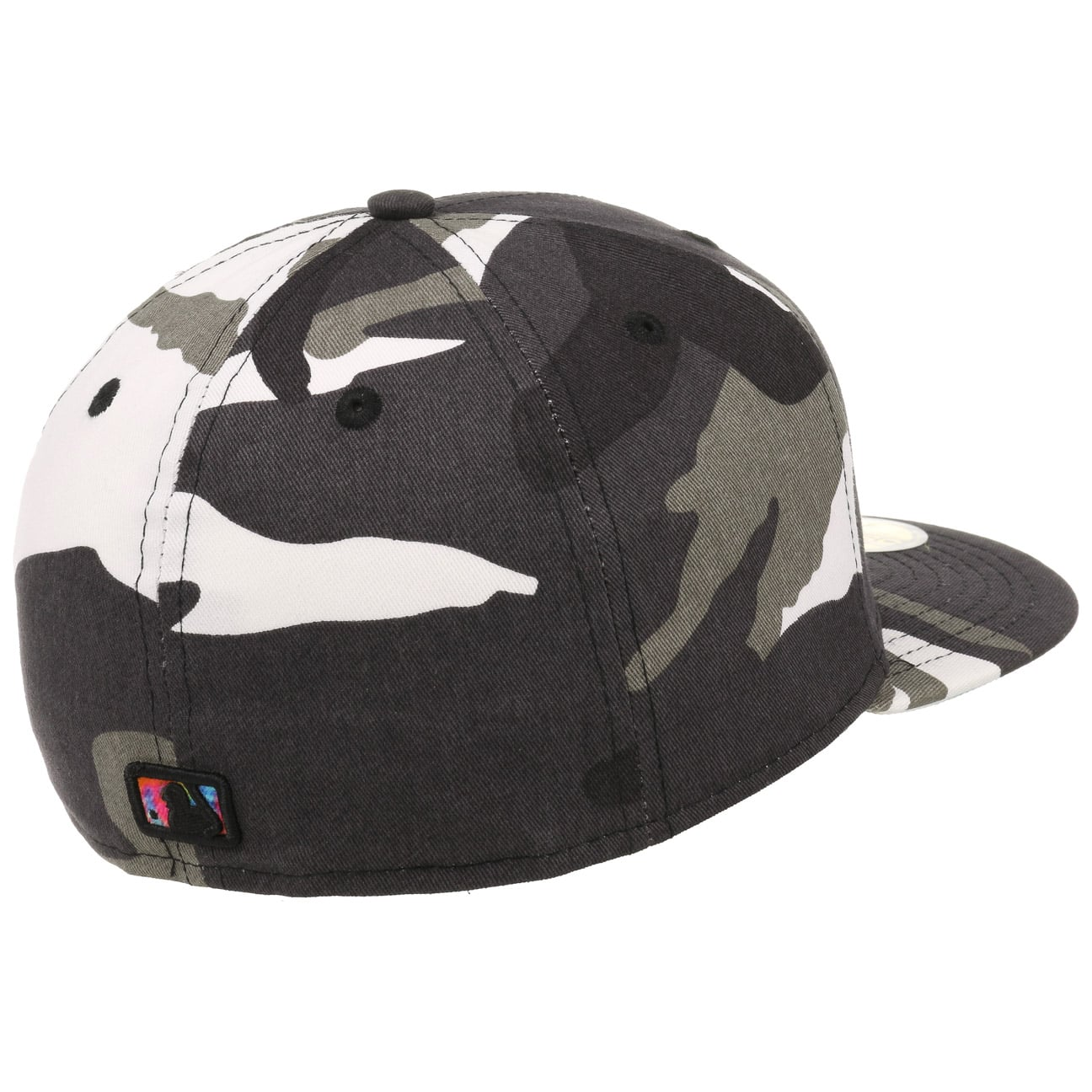 ea8d5899f05 ... 59Fifty Camo Colour Swirl Cap by New Era - grey 4 ...
