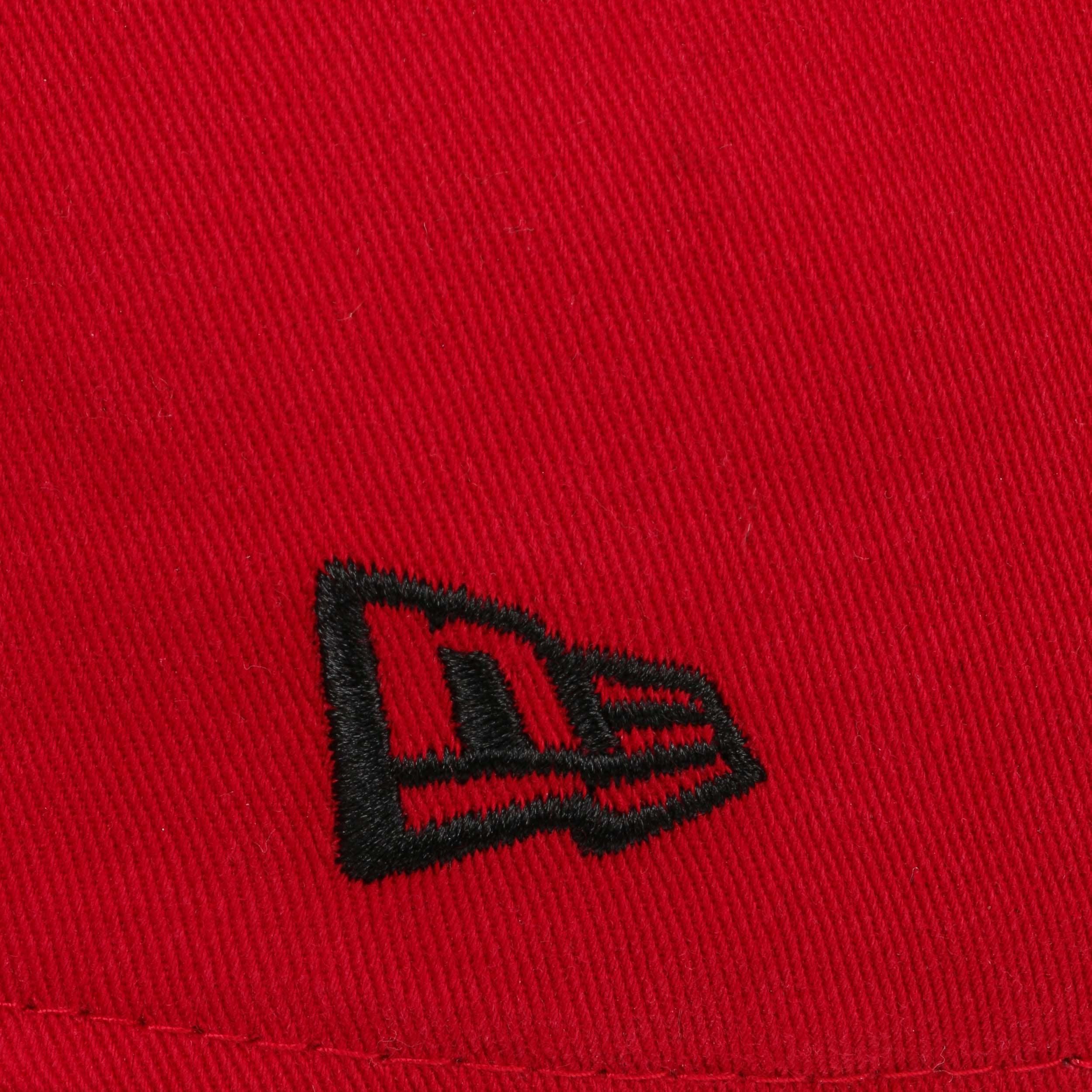 ... 59Fifty Chainstitch Bulls Cap by New Era - red 5 ... 4f017f540747