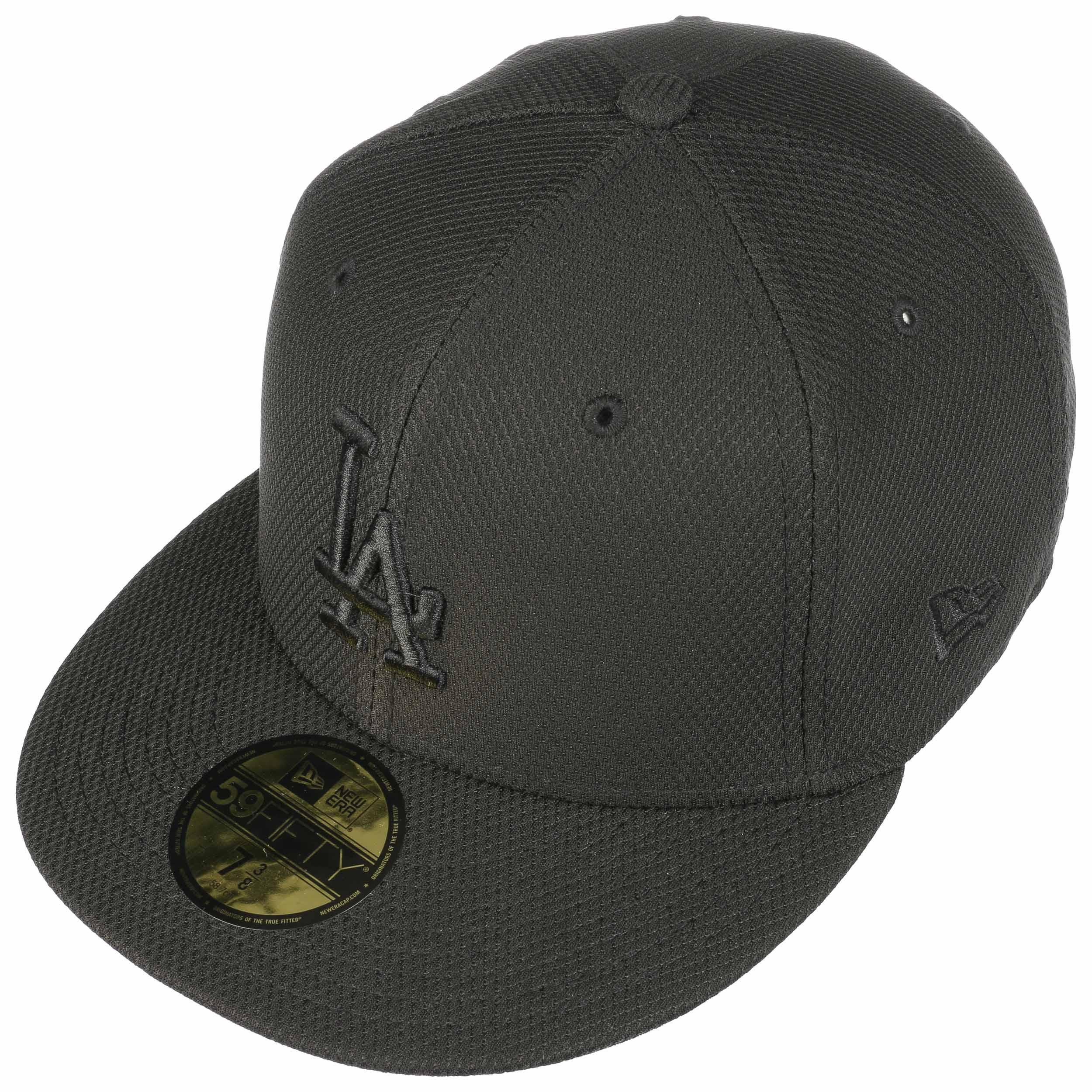 cd8df73ee 59Fifty Diamond MLB Dodgers Cap by New Era - black 1 ...