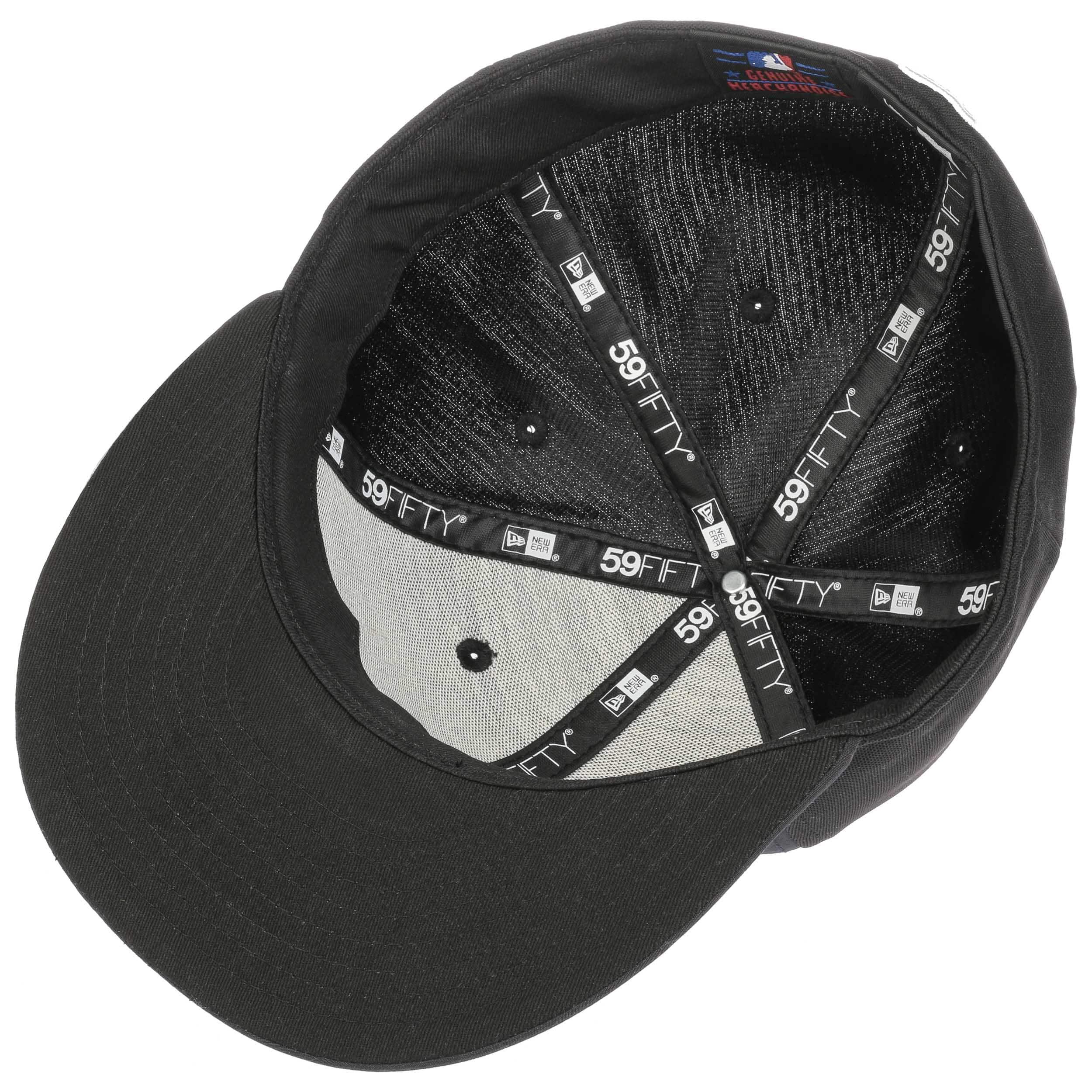 36723469a ... 59Fifty Diamond MLB Dodgers Cap by New Era - black 3 ...