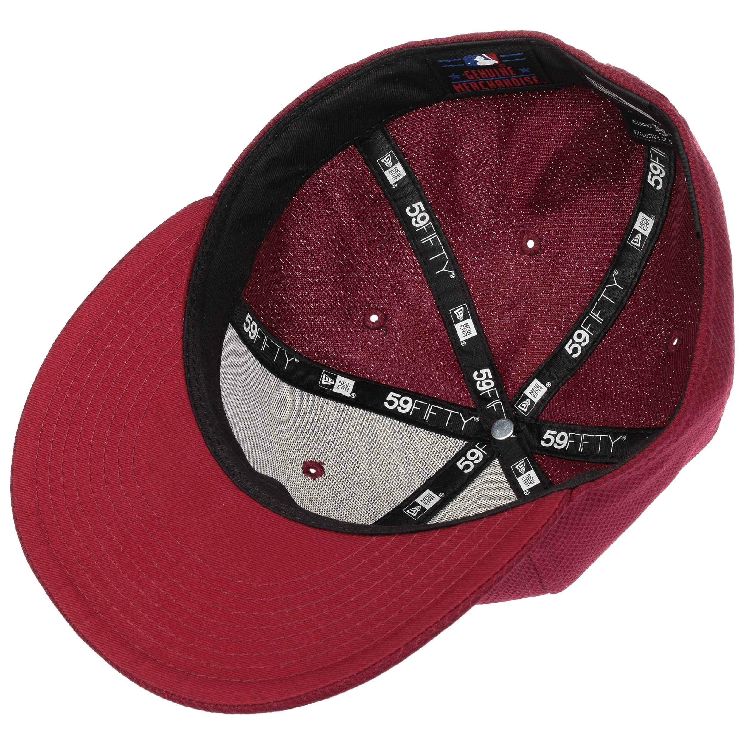 10d084af987 ... 59Fifty Diamond Red Sox Cap by New Era - bordeaux 3 ...