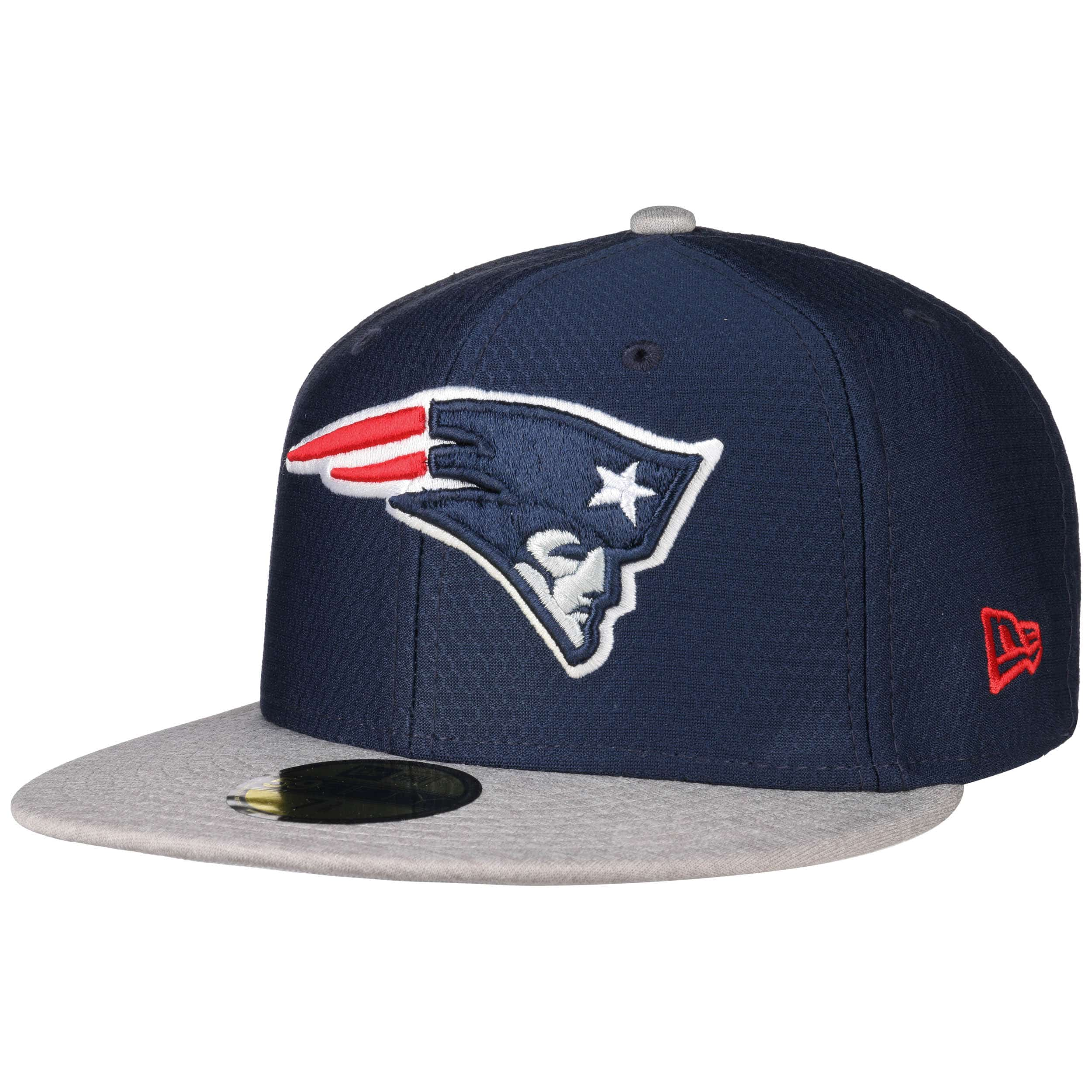 2e83cc73f07d ... 59Fifty DryEra Patriots Cap by New Era - schwarz 6