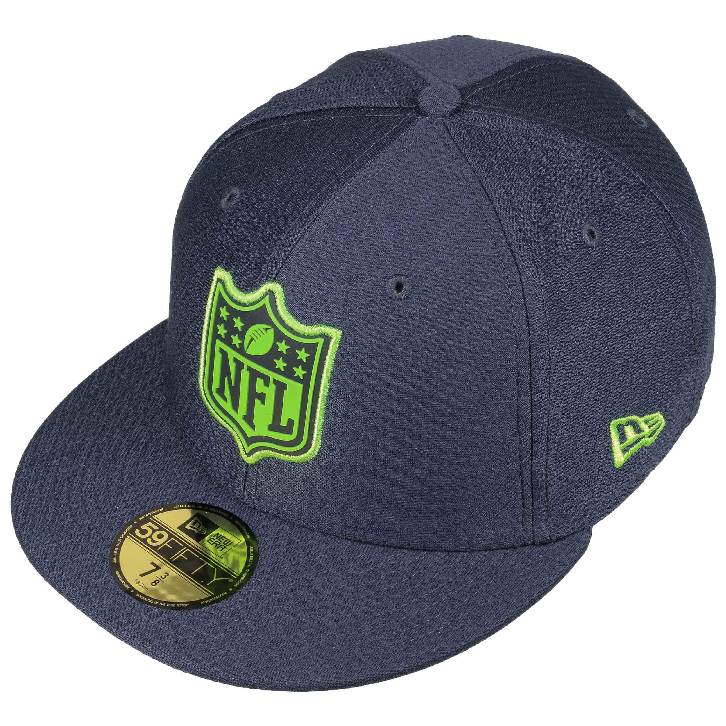 59Fifty League Logo Seahawks Cap by New Era - navy 1 ... 08ebbea85